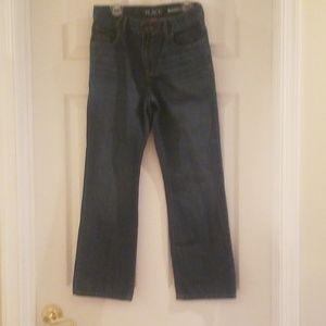 Children's place boot cut jeans size 10 husky